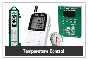 Big Green Egg temperature control